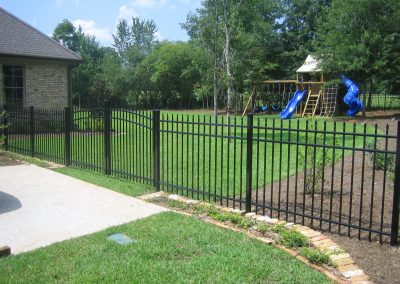 4' Aluminum Fence Arched Gate