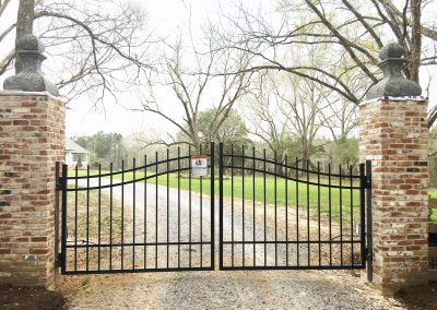Custom Arched Gate with Viking X9 Swing Gate Operators