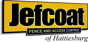 Jefcoat Fence of Hattiesburg (logo)